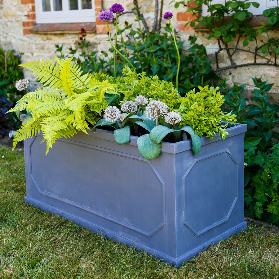 Fibrestone Chelsea Trough Garden Planter